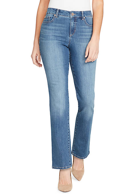 Bandolino Petite Mandie Short Perfect Fit Jeans