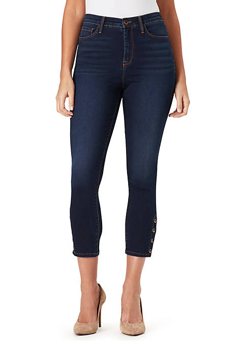 Bandolino Thea High Rise Cropped Jeans