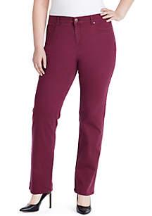 Plus Size Mandie Basic Short Jeans