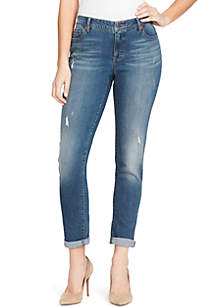 Petite Karyn Boyfriend Camden Jeans