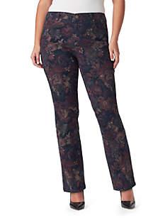 Plus Size Mandie Floral Print Pants
