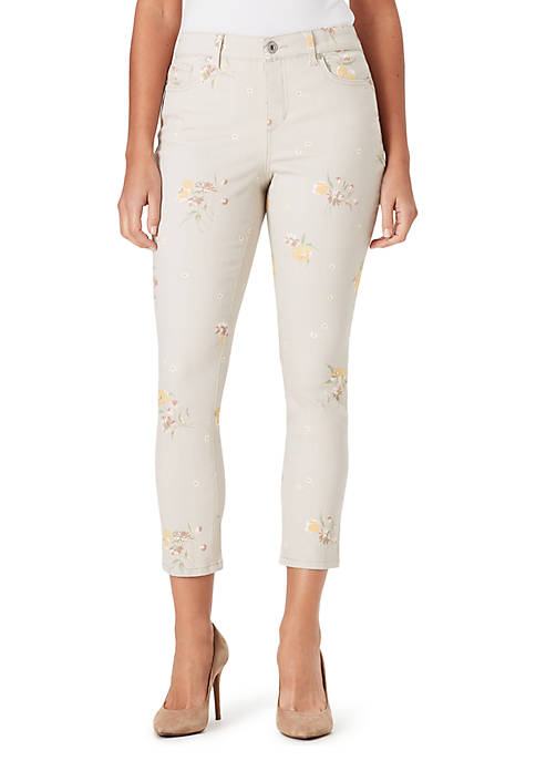 Bandolino Mandie Spring Breeze Cropped Jeans