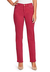 Petite Short Mandie Straight Jeans