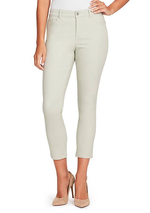 Bandolino Petite Mandie Slim Crop Jeans