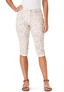 Bandolino Lisbeth Floral Skimmer Pants
