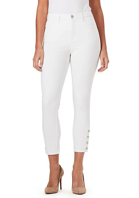 Bandolino Thea Hi Rise Crop Jeans