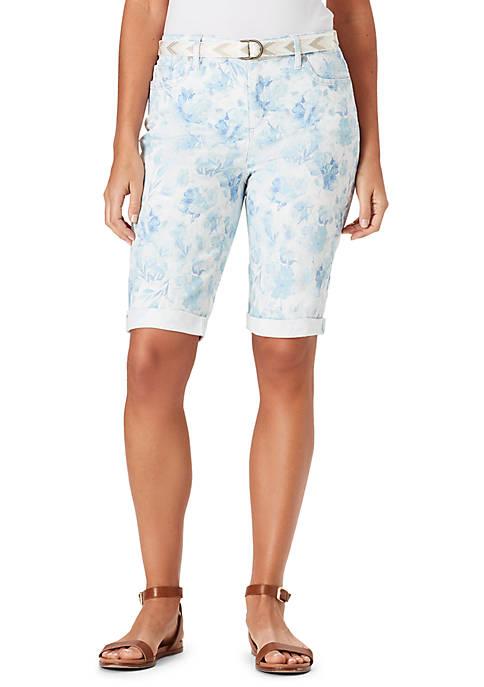 Bandolino Riley Bermuda Sponge Shorts