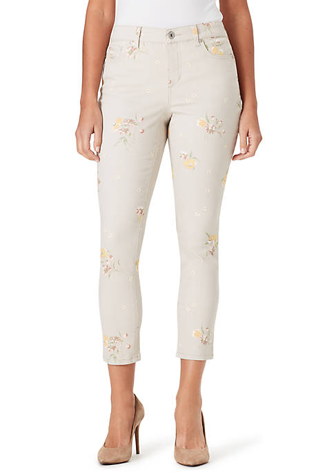 Bandolino Petite Mandie Spring Breeze Crop Pants