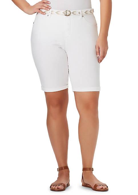 Bandolino Plus Size Riley Bermuda Shorts