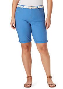 1bcdcd3724 ... Bandolino Plus Size Riley Bermuda Shorts