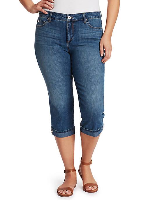 Plus Size Mandi Jean Capris