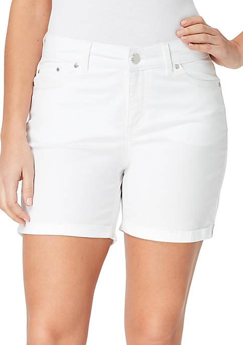 Bandolino Petite Mandie Denim Shorts