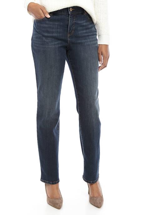 Bandolino Womens Mandie Denim Jeans