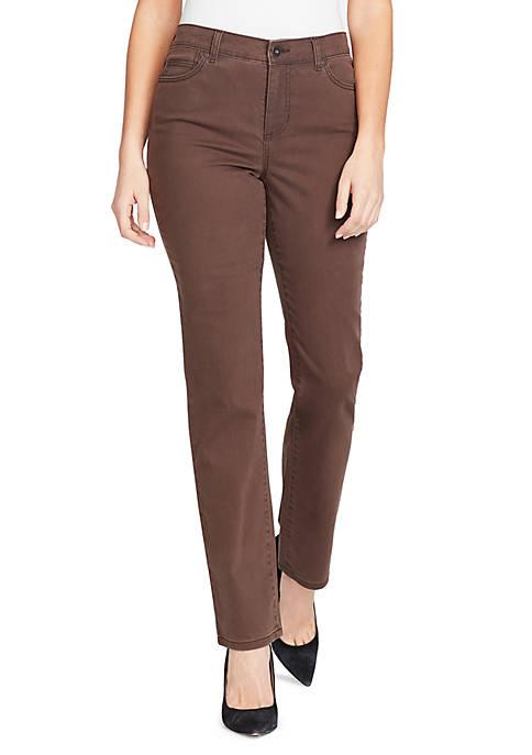 Bandolino Petite Mandie Colored Short Jeans