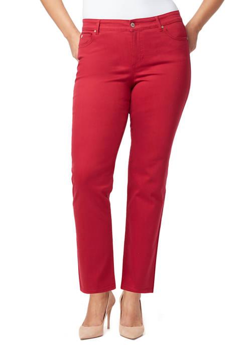 Bandolino Plus Size Mandie Denim Jeans