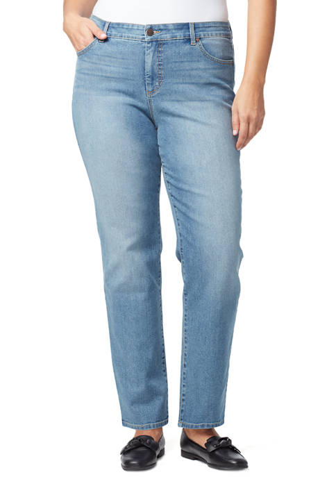 Bandolino Plus Size Mandie Average Denim Jeans