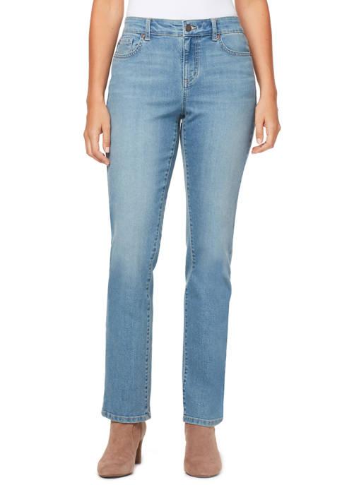 Bandolino Petite Mandie Short Denim Jeans
