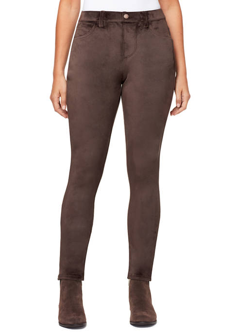Bandolino Womens Bella Velour Pants