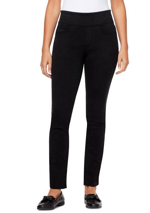 Womens Theodora Tummy Toner Pull On Jeans