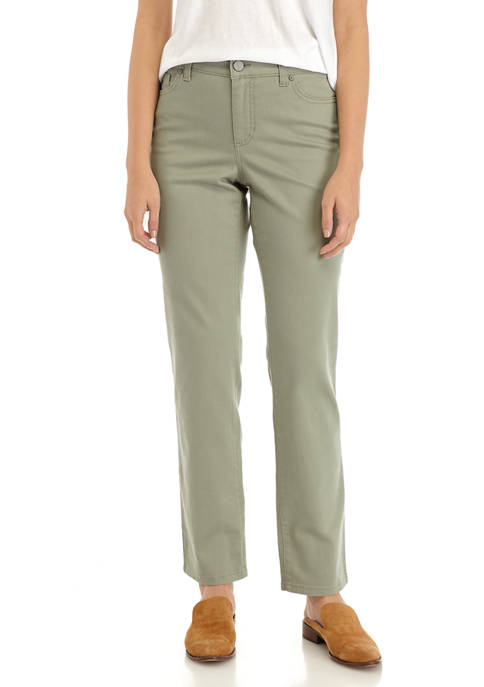 Bandolino Womens Mandie Straight Jeans
