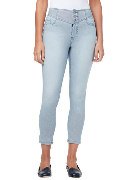 Womens Thea High Rise Crop Jeans