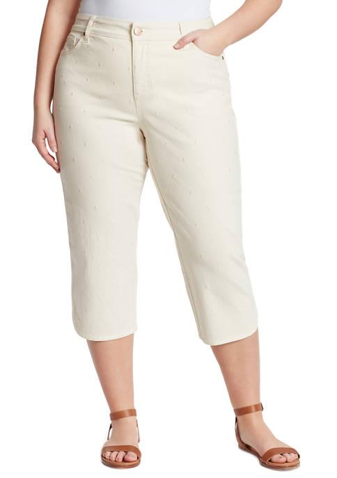 Bandolino Plus Size Mandi Capri Pants