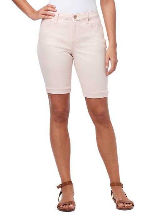 Bandolino Petite Riley Bermuda Shorts