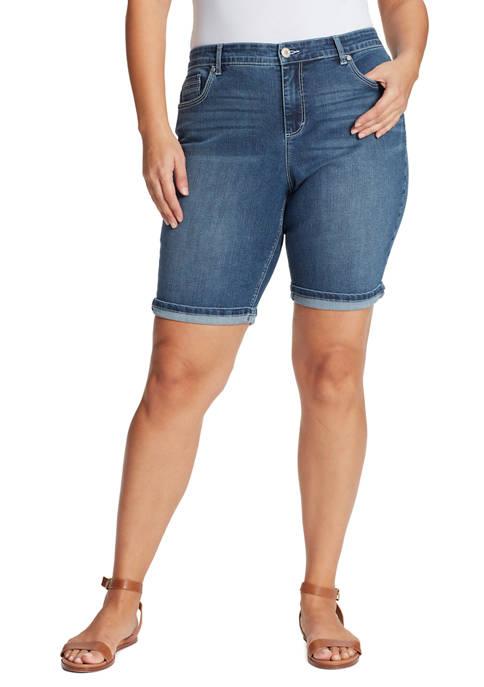 Plus Size Riley Bermuda Shorts