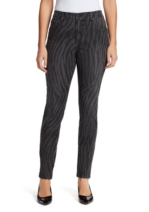 Mandie Skinny Print Pants
