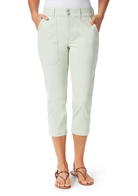 Bandolino Womens Utility Capri Pants