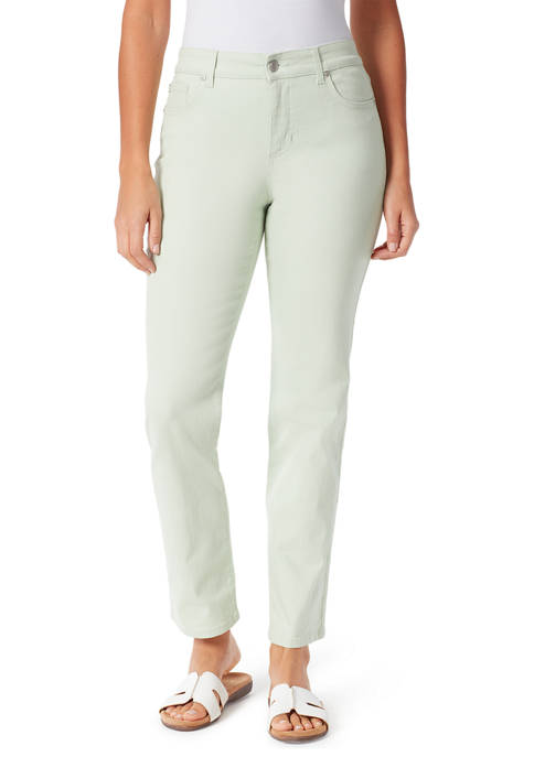 Bandolino Womens Mandie Straight Average Length Pants