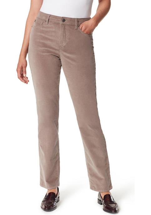 Bandolino Womens Corduroy Average Length Pants