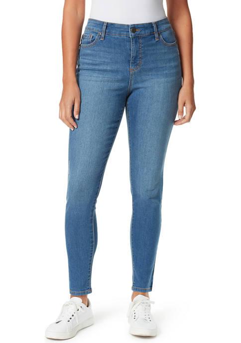 Bandolino Womens Mandie Skinny Average Length Jeans