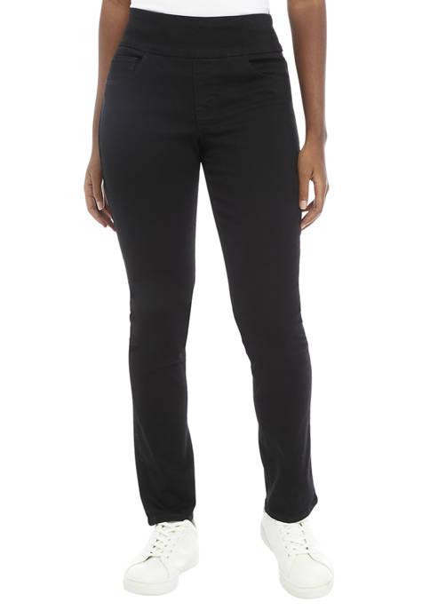 Bandolino Womens Theodora Tummy Toner Straight Jeans