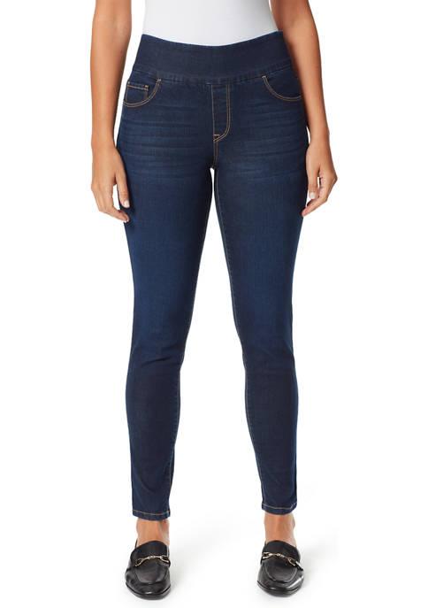Bandolino Womens Theadora Tummy Toner Skinny Leg Jeans