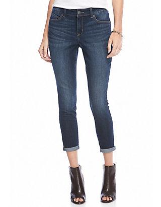 Bandolino Womens Lisbeth Curvy Skinny Ankle Jean