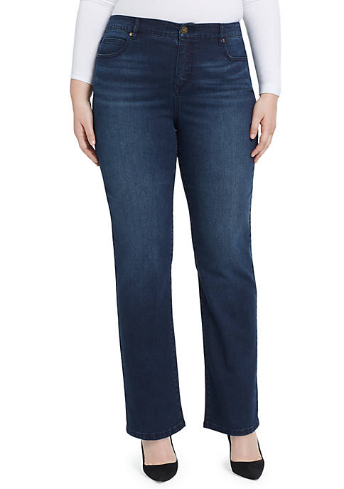 Bandolino Plus Size Mandie Updated Back Pocket Jeans