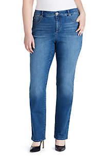 Plus Size Mandie Short Perfect Fit Jeans