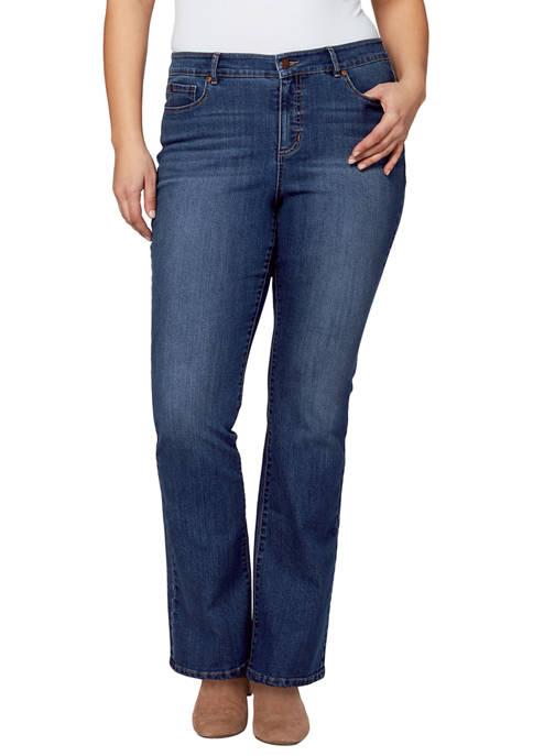Bandolino Plus Size Madie Boot Jeans
