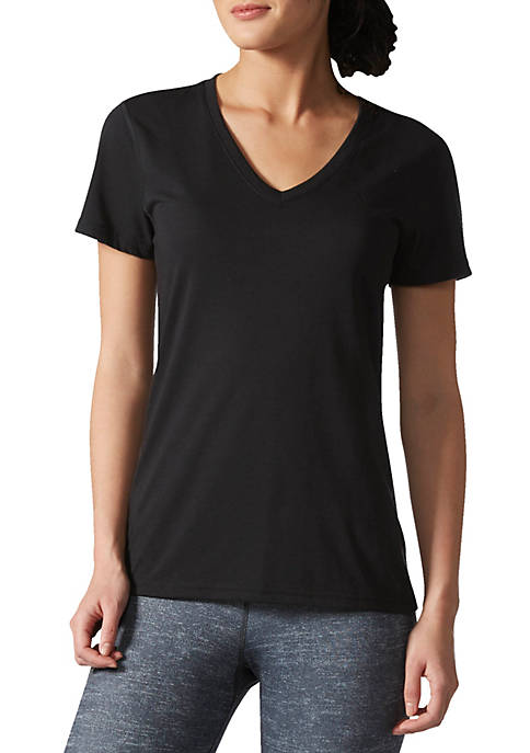 adidas V-Neck Tee Shirt