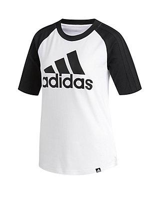 size 40 95557 71027 adidas Elbow Sleeve Baseball Tee
