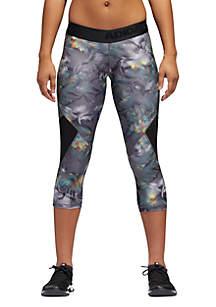 Alphaskin Spring Tiger Capri Pants