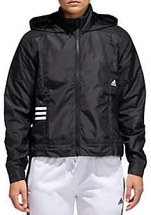 Woven Zip Front Jacket