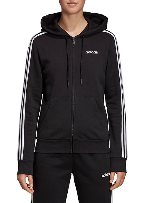 adidas Essentials 3 Stripes Fleece Hoodie