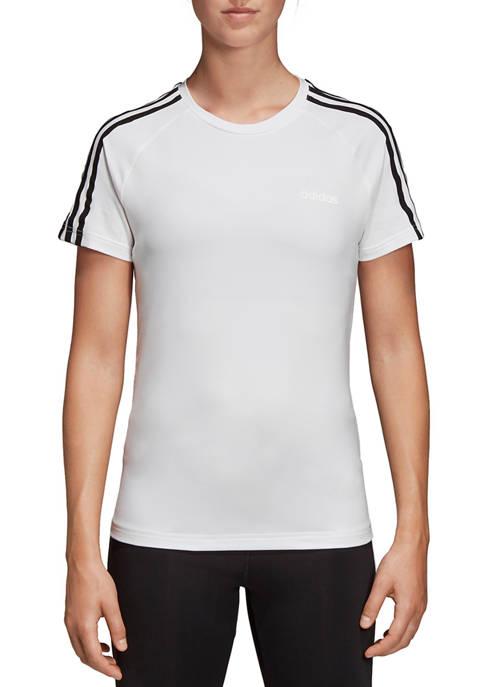 adidas Design 2 Move 3 Stripes T-Shirt