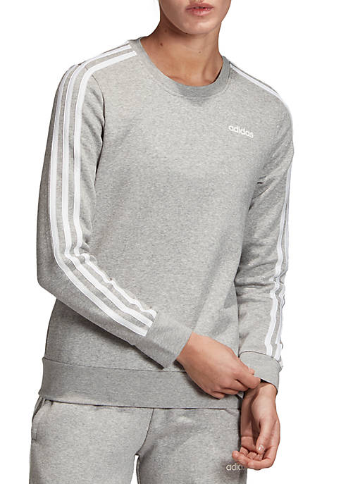 adidas Essentials 3 Stripes Sweatshirt