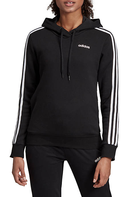 adidas 3 Stripes Fleece Hoodie