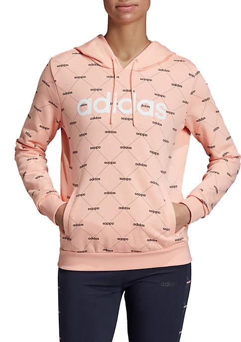 adidas Linear Graphic Hoodie