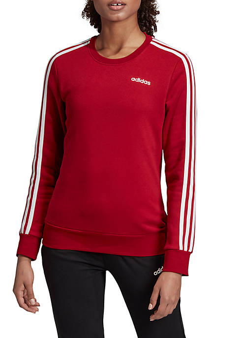 adidas Essentials 3 Stripes Sweatshirt