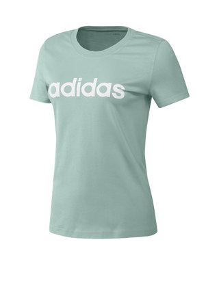 boys adidas t-shirt Essentials linear girls tee top t shirt shirt